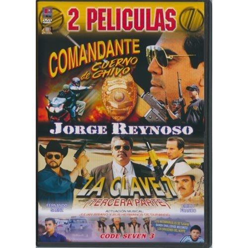Comandante Cuerno De Chivo/La Clave 7 Parte Tres (2 peliculas) -