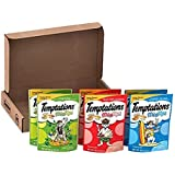 Temptations Mixups Cat Treats Variety Pack In Backyard Cookout, Surfer'S Delight, And Catnip Fever Flavors, (6) 3 Oz. Pouches, Makes A Great Holiday Cat Gift