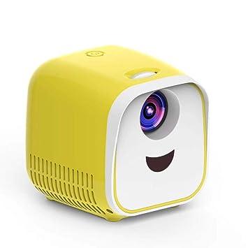 WHLDCD Proyector Nuevo Mini proyector WiFi USB Proyector portátil ...