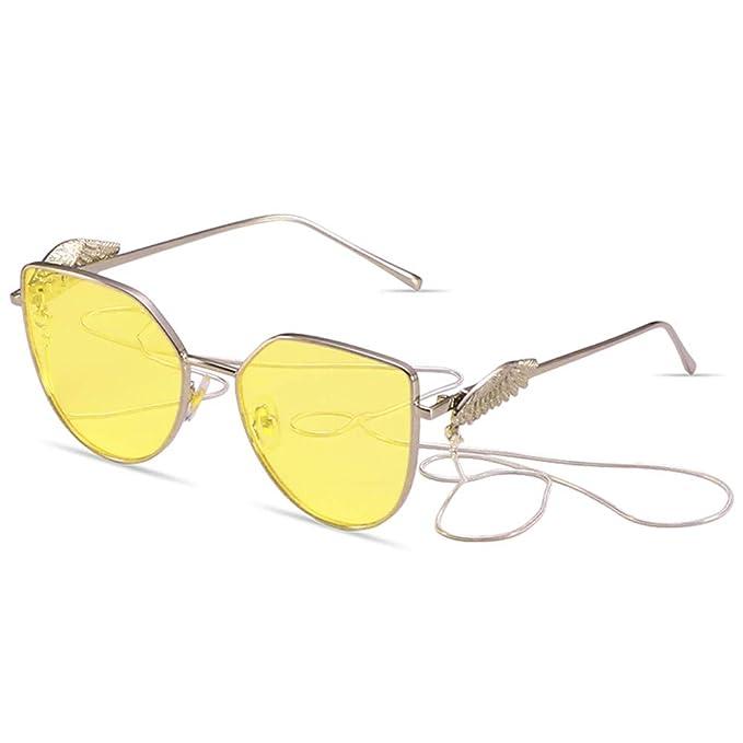 NIFG Gafas de sol transparentes del océano Gafas de sol ...