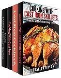 Cast Iron Cookware Recipes 4  Books in 1  Book