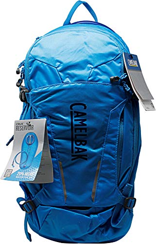 CamelBak M.U.L.E. 100 oz Hydration Pack, Pitch Blue/Racing Red