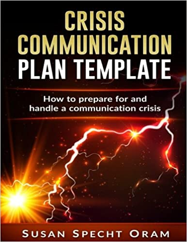crisis communication plan template with detailed guidelines and