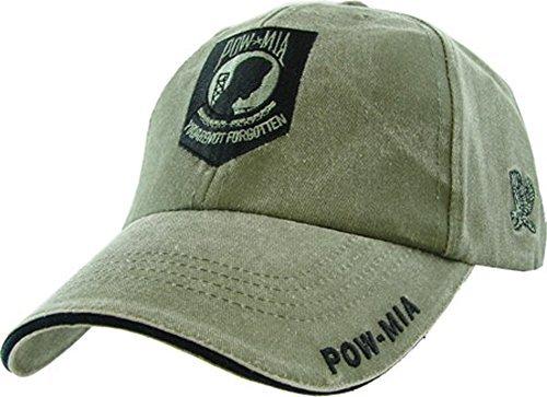 POW MIA you are not forgotten cap. Green -