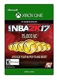 NBA 2K17: 75,000 VC - Xbox One Digital Code