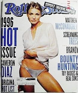 Rolling Stone Magazine, Issue 741, Cameron Diaz Cover