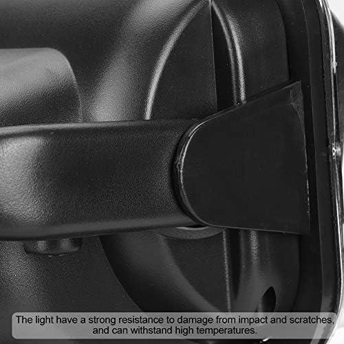 EBTOOLS 50ワットブラックled車のリモコン検索ライトスポットランプリモコンスポットライトサーチライト用atv utv rvトラックボートマリンバス