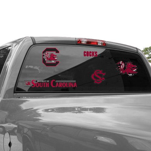 WinCraft NCAA University of South Carolina 37040012 Multi Use Decal, 11