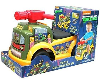 Amazon.com: Teenage Mutant Ninja Turtle Shellraiser Ride On ...