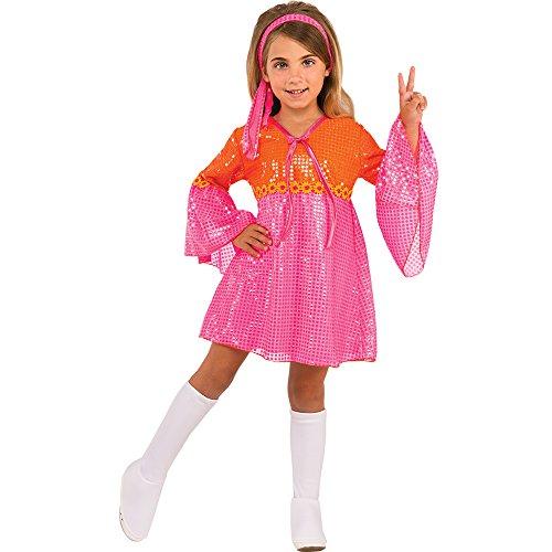 Rubie's Costume 630591-M Child's Go Girl Costume, Pink, Medium, -