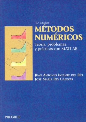 Descargar Libro Metodos Numericos / Numerical Methods: Teoria, Problemas Y Practicas Con Matlab Juan A. Infante Del Rio