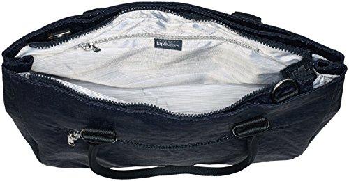Kipling Damen Artego Laptop Tasche, 39x28.5x15 cm Schwarz (Basket Shimmer)
