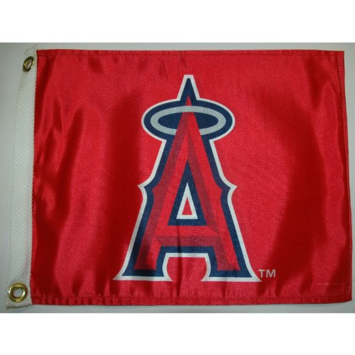 Angels Flag (MLB California Angels Boat and Golf Cart Flag)