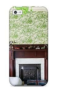 GohOtpu4232XesIL ZippyDoritEduard Boy8217s Bedroom With Fireplace And Green Chandelier Durable Iphone 5c Tpu Flexible Soft Case
