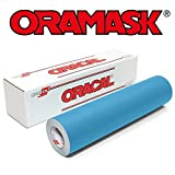 Oracal ORAMASK 813 Stencil Film Roll for cricut, Silhouette, Cameo, Craft Cutters (12'' x 20Ft)