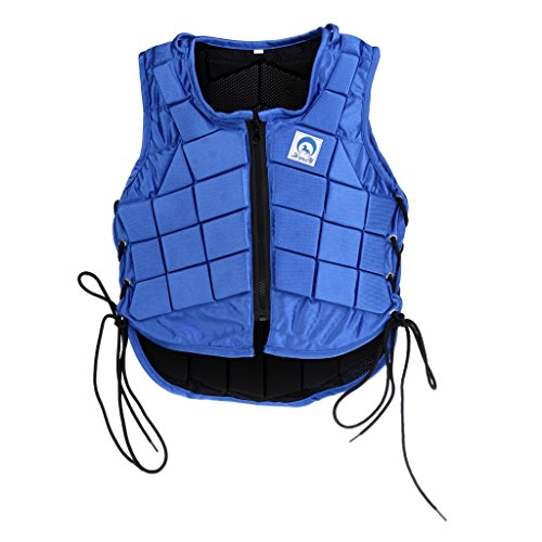 CUTICATE Men Women Horse Riding Vest, Kids Children Safety Equestrian Horse Riding Body Protector Gear - 8 Sizes to Chose - Kids CL