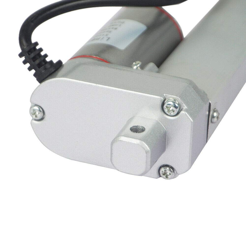 DC HOUSE 1000N 150mm DC 12V 14mm//s Linear Drive Motor Linear Motor Adjustment Actuator Motor for Car RV Electric Door Opener