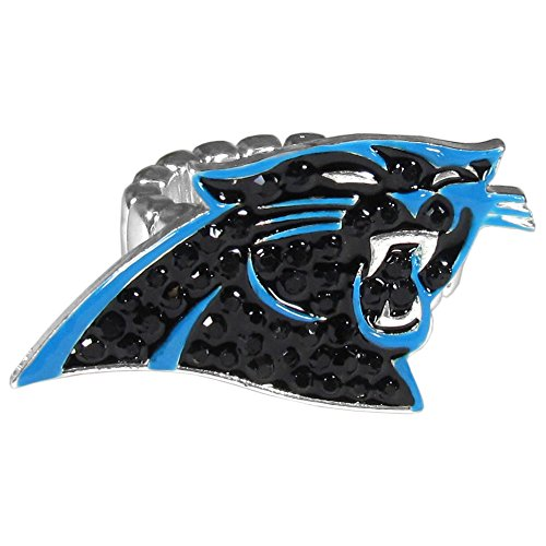 Siskiyou NFL Carolina Panthers Crystal Ring, Stretch ()