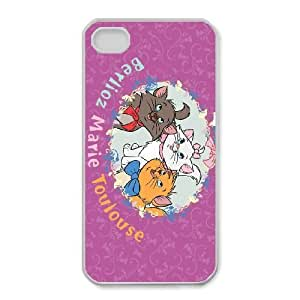 The Aristocats For iPhone 4,4S Cases Cover Cell Phone Case STX086819