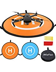 WisFox TY-01 - Rampa di arresto, pieghevole, impermeabile, 75 cm, per DJI Mavic Pro Phantom 2/3/4 Inspire 1
