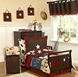 Wild West Cowboy Western Musical Baby Crib Mobile