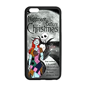The Nightmare Before Christmas Snap On TPU Cover Protector For iphone 6 plus, Silicone iphone 6 plus Case, Iphone Accessories