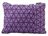 "Therm-a-Rest Compressible Travel Pillow for Camping, Backpacking, Airplanes and Road Trips, Amethyst, Medium: 14"" x 18"""