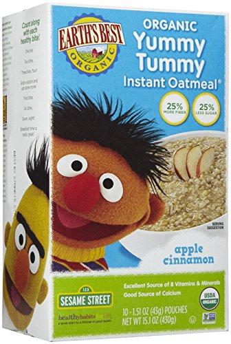 Earths Best Sesame Instant Oatmeal