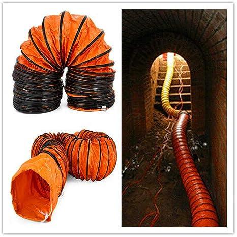 Mophorn Tuyau Flexible en PVC de 10 M pour Ventilateur dExtraction de Diam/ètre de 300 mm