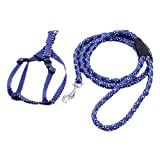 Uniquorn Stylish And Durable Pet Dog Chest And Back Traction Rope Color Pattern Dog Traction Package Cotton Rope