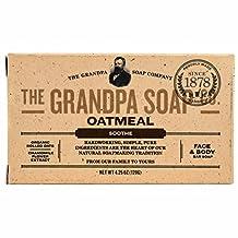 Grandpa's Soap Co. - Face & Body Bar Soap Oatmeal - 4.25 oz.