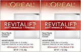 L'Oreal Paris RevitaLift Anti-Wrinkle + Firming Face & Neck Contour Cream, 1.7 Fluid Ounce (Pack of 2) Review