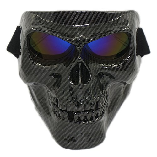 Vhccirt Airsoft/Paintball/Motorcross Protective Mask Halloween Spooky Decor Scary