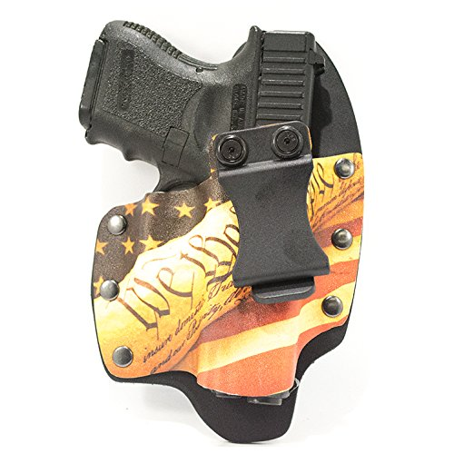Infused Kydex USA: We The People Tan IWB Hybrid Concealed Carry Holsters for More Than 200 Different Handguns. Left & Right Versions Available.