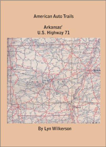 Amazoncom American Auto TrailArkansas US Highway - Us highway 71 map