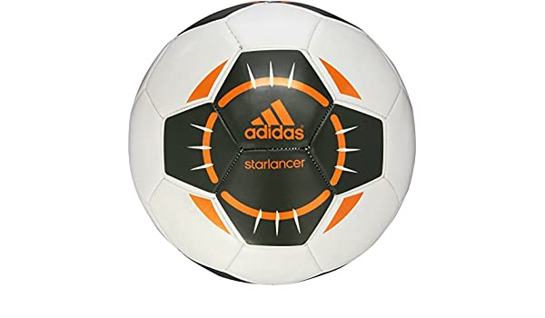 adidas Starlancer IV – Balón de fútbol, Color Blanco/Base Verde ...