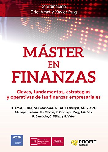 Máster en Finanzas (Spanish Edition)