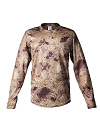 Tactical Military Camouflage T Shirt Male Breathable Quick Dry Combat Full Sleeve Outwear T-Shirt for Men