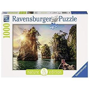 Ravensburger Rocce Di Cheow Lan Tailandia Puzzle Foto E Paesaggi 1000 Pezzi 13968