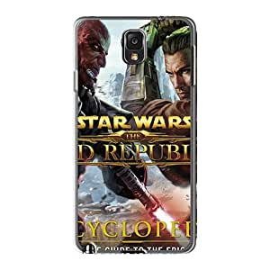 Perfect Cell-phone Hard Cover For Samsung Galaxy Note3 With Allow Personal Design Trendy Strat Wars Series EricHowe