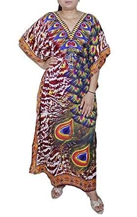 Womens Swimwear Beachwear Kaftan Summer Shirt Dress at Amazon Women