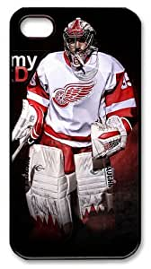 Jimmy Howard Red Wings Customizable iphone 4/4s Case by icasepersonalized