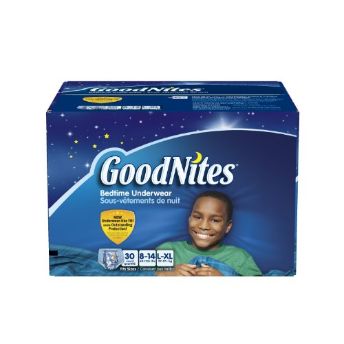 GoodNites Youth Pants Boys Count