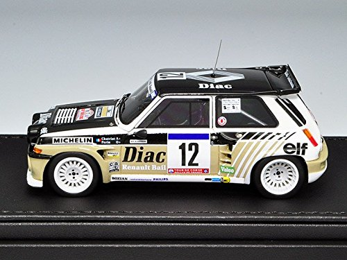 Amazon.com: HEADLINER 1 / 43 Renault 5 MAXI turbo (# 12) 1985 Tour de Corse: Toys & Games