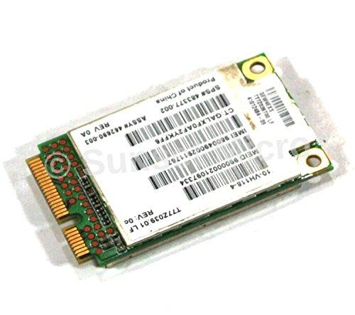 Compaq Hp Pc 6735b (Genuine HP EliteBook 2530p 2730p 6930p 8530p 8730p 8530w 8730W ProBook 4310 4311S 4410 4411S 4510 4710S 4415 4416 4515S MINIBOOK mini311 dm1 mini 1000 mini700 mini 5101 pavilion dv2 dv3 early dv4-1000 Compaq Notebook 6530b 6535b 6730b 6735b Laptop WWAN 3G CARD 462690-003 483377-002)