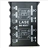 LASE DB-02 - Professional Dual Channel Passive Direct Box.
