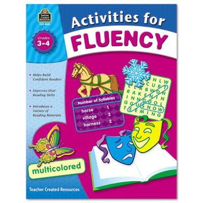 Teacher Created Resources Activities for Fluency for  Grades 3 to 4, 144 Pages (Halloween Songs For 11 Year Olds)
