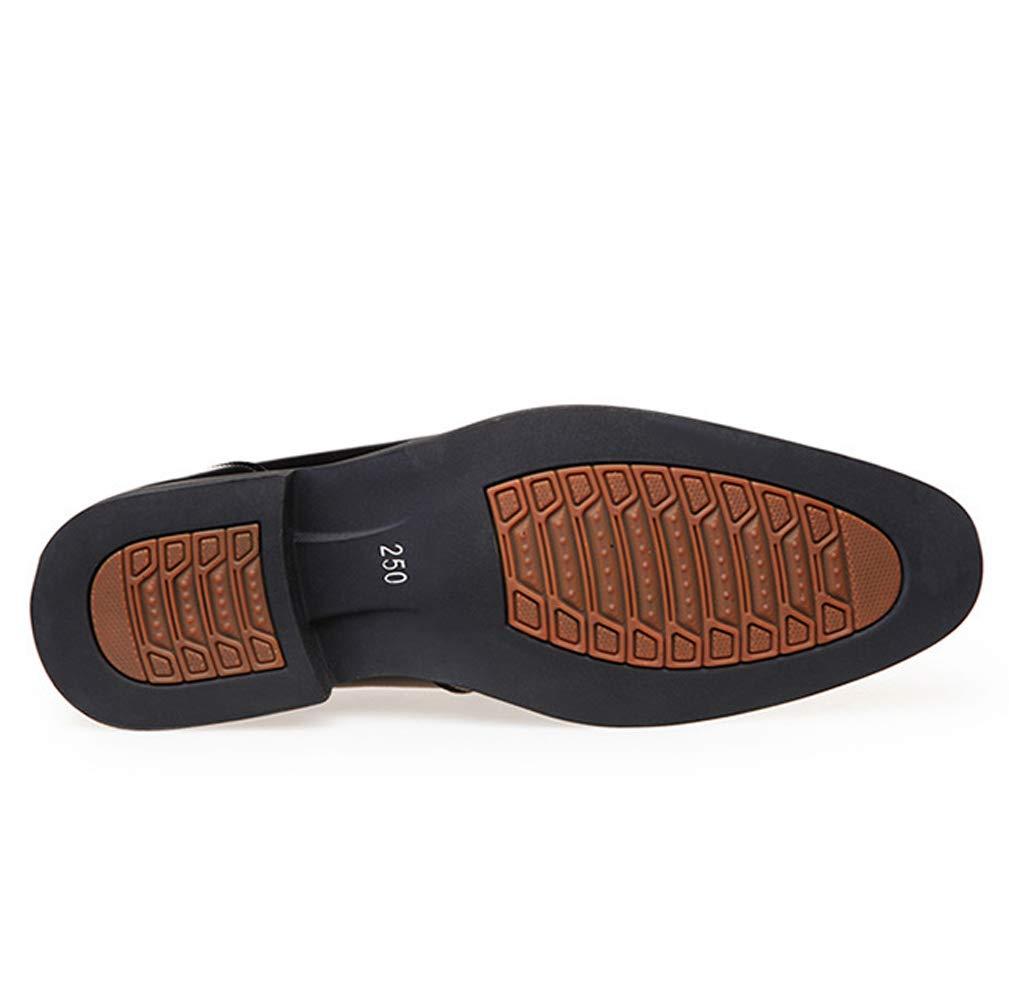 TAZAN Herrenspitze Schuhe Business Lackleder gl/änzend flach Leder Brautkleid Schuhe schwarz braun