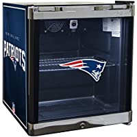 Glaros Officially Licensed NFL Beverage Center / Refrigerator - New England Patriots