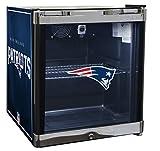 Glaros Officially Licensed NFL Beverage Center / Refrigerator - New England Patriots